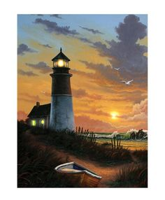 Ohio Wholesale Radiance Lighted Canvas Wall Art, Lighthouse Design for sale online Light Up Canvas, Canvas Lights, Lighthouse Painting, Lighthouse Pictures, Water Collection, Pictures To Paint, Canvas Wall Art, Poster Prints, Lighthouses
