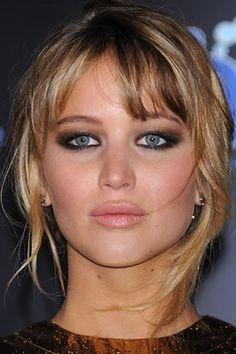 Jennifer Lawrence love the make up