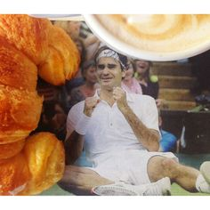 Breakfast with King Roger <3