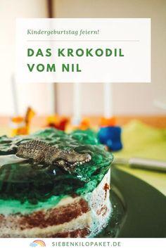 Ein Krokodilkuchen, eine Kakadutorte - hier findest du tolle Ideen und Rezepte, damit deine Krokodil vom Nil Mottoparty gelingt! Das wird ein unvergesslicher Kindergeburtstag  #feiernmitkindern #kindergeburtstag #krokodilvomnil #kinderparty Food Design, Party Mottos, Desserts, Blog, Inspiration, Crocodile Cake, Jello, Cockatoo, Birhday Cake