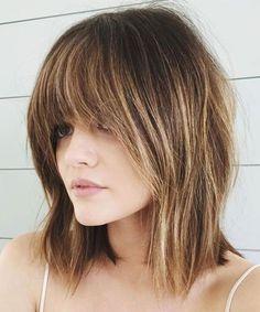 Medium Length Bob Hairstyles - Lucy Hale