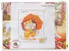Project 2014: 11/40 April (Margaret Sherry-Calendar Cats)