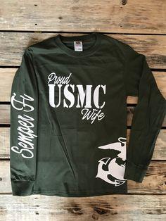 Marine Wife, Marine Girlfriend, Marine Fiance, Marine Mom, Marine Sister, Marine Dad, Marine Brother, Marine Grandma, Semper Fi, Marine by LovingMyHero143 on Etsy