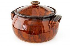 Balkan traditional clay pot cooking Stock Photo