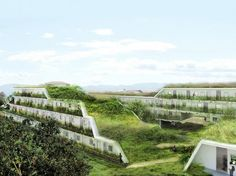 Off Architecture Unveils Rolling Green-Roofed Apartment Complex for France | Inhabitat - Sustainable Design Innovation, Eco Architecture, Gr...