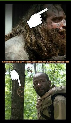 Not sure what this means, but it can't be good. - Fangirl - The Walking Dead