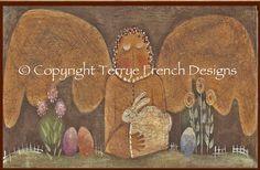 Very Prim Angel   Terrye French pattern di PaintingWithFriends