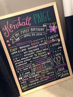 Obviously going to need one of these adorable boards from the talented Meghan Callow at Calligraphesque!   HandLettered First Birthday/Milestone by Calligraphesque on Etsy