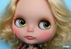 Custom commission for Blythe doll via SoulGirl Dolls Shop on etsy.com