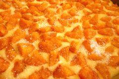 Bögrés sárgabarackos pite  