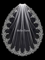 Pearls, sequins, rhinestones and beads adorn this delicate, gold embroidered bridal veil. This beautiful design is sure to compliment your gold wedding day style! It is 41 inches long and 72 inches wi Wedding Veils, Gold Wedding, Wedding Day, Wedding Dresses, Bridal Gowns, Wedding Stuff, Ideas Joyería, Bride Veil, Wedding Venue Inspiration