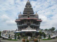 Annai Velangkanni temple in Medan, Sumatra, Indonesia #temple