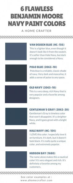 Navy is the new black! Benjamin Moore has some of the best Navy paint colors available. Navy is the new black! Benjamin Moore has some of the best Navy paint colors available. Jordan […] decoration for home paint colors Navy Paint Colors, Exterior Paint Colors, Paint Colors For Home, Wall Colors, House Colors, Wall Exterior, Exterior Siding, Navy House Exterior, Navy Colour
