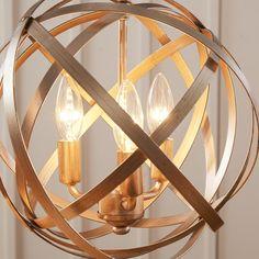 House of Hampton Gaia 4 Light Globe Pendant & Reviews   Wayfair
