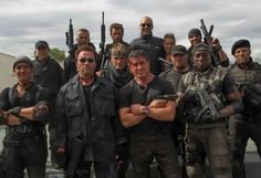 """Antonio Banderas, Sylvester Stallone, Jason Statham, Dolph Lundgren, Jet Li, Wesley Snipes, Arnold Schwarzenegger, Kellen Lutz, Randy Couture, Ronda Rousey, Victor Ortiz, Patrick Hughes, and Glen Powell in """"The Expendables 3""""- 2014 Hollywood Actor, Hollywood Stars, Jason Statham Young, Victor Ortiz, Randy Couture, Glen Powell, Expendables 3, Wesley Snipes, Mickey Rourke"""