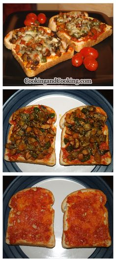 Mushroom and Sausage Pizza Toast is a yummy recipe and you can serve it as a snack or even as a main meal.
