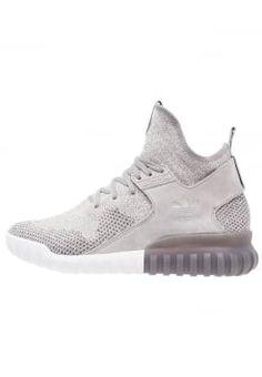 adidas Originals - TUBULAR X - Sneakers high - solid grey/utility black/crystal white