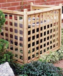 DIY projects to get ready for SUMMER lattice air conditioner cover - such an improvement!lattice air conditioner cover - such an improvement! Garden Deco, Outdoor Spaces, Outdoor Living, Outdoor Decor, Outdoor Ideas, Diy Yard Decor, Outdoor Stuff, Outdoor Projects, Home Projects