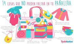 14 cosas que no pueden faltar en la bolsita de tu bebé ;) Tomad nota mamás ;)