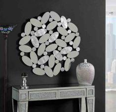 Espejos Decorados en Pan de Plata : Modelo BOILA