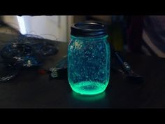 Halloween Glow Jars | At Home With P. Allen Smith