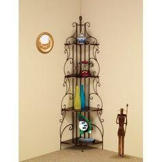 Four Tier Metal Etagere Shelf, 2015 Amazon Top Rated Racks, Shelves & Drawers #Furniture