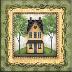 AA-Folk House 1 - Accent Tile