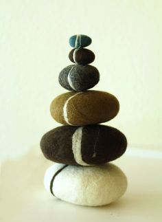 felted rocks.... to soften the blow when you throw them at people? i don't get it.