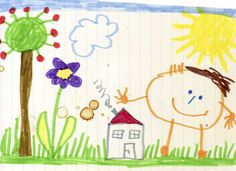 Stickman Series, Illustrator, Happy Kids, Banner, Kids House, Doodles, Bullet Journal, Kids Rugs, Children