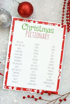 Christmas Pictionary Game If you're looking for easy holiday party games to keep the kids entertained, print these games! Christmas Bingo, I Spy, Don't Eat Pete, & Christmas Memory. Fun Christmas Party Ideas, Christmas Games For Family, Xmas Games, Christmas Bingo, Holiday Party Games, Christmas Tree Cards, Kids Party Games, Christmas Humor, Holiday Parties