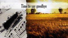 Partitura Time to say goodbye Flauta Traversa