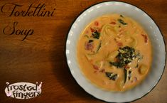 Tomato Tortellini Soup Recipe. Quick, easy and perfect for a cold night! Definitely a keeper!
