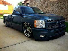 Bagged Trucks, Lowered Trucks, Mini Trucks, Dodge Trucks, Cool Trucks, Pickup Trucks, Silverado Nation, Chevrolet Silverado, 2013 Silverado