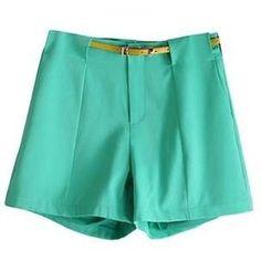 Le short vert parfait pour le plaisir d'ètè.