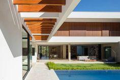 Padovani Arquitetos Associados aposta em detalhes minimalistas e linhas retas em projeto de residência na cidade de Campinas :: aU - Arquitetura e Urbanismo