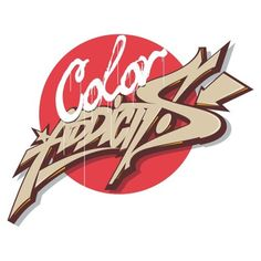 """Color Addicts"" logo #causeturk #stilbaz #cmr #graphic #design #graffiti #graffart #instagraff #type #streettype #color #art #drawing #style #izmir #bursa #bursagraffiti #turkey"