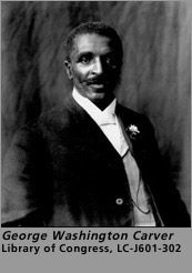 """Here's an excerpt from an online biography of George Washington Carver at the Tuskegee Legends website:   """"Carver [painted] all his life. One of his paintings won Honorable Mention in the 1893 Chicago World's Fair.  """"Carver found time in his hectic schedule to crochet, knit, and do needlework."""" Is there any more reason needed to lionize him? [27-01-14]"""