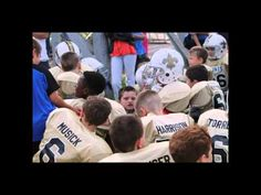 Saints WHO DAT BLACK AND GOLD video.  Jessamine County Kentucky Peewee Football.
