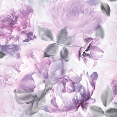 Floral Wallpaper Lip