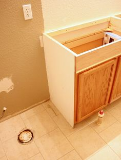 Elegant How To Add Height To A Short Bathroom Vanity (28)