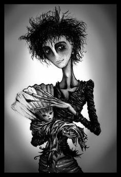 Tim Burton's drawing