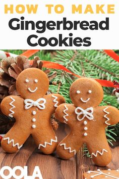 How To Make Gingerbread Cookies These gingerbread men cookies will fill your home with the beautiful aroma of the holiday season. Get in the spirit and have fun decorating these joyful cookies with your family. Gingerbread Man Decorations, Gingerbread Man Cookies, Christmas Gingerbread House, Christmas Sugar Cookies, Christmas Tea, Christmas Goodies, Holiday Cookies, Christmas Baking, Gingerbread Men