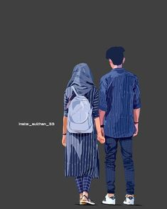 Romantic Couple Images, Romantic Couples Photography, Boy Photography Poses, Cute Love Wallpapers, Cute Couple Wallpaper, Cute Cartoon Wallpapers, Cute Couple Drawings, Cute Couple Art, Cute Muslim Couples
