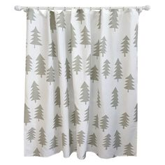 Tree Shower Curtain Calm Gray - Pillowfort™ : Target