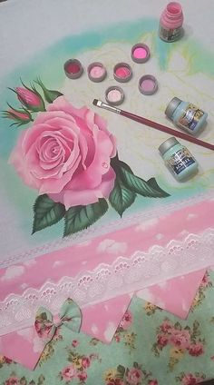Basic Painting, One Stroke Painting, Doodle Drawings, Paint Designs, Stencils, Crochet Patterns, Doodles, Girly, Hand Painted