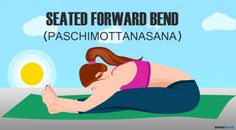 Seated forward bend Pose for belly fat. Yoga for belly fat fast. Get rid of belly fat fast