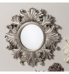 Raven Round Mirror 66 cm Raven Round Mirror | Exclusive Mirrors [EE1553] - £60.59 : Mirrors for Every Interior from Exclusive Mirrors