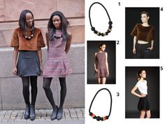 Anothamista Style Inspiration: Dress Up 1. Black & Gold Necklace available at http://shop.anothamista.com/product/cc-s-b 2. Dress available at http://shop.anothamista.com/product/miia-dress 3. Black, Red & Gold Necklace available at http://shop.anothamista.com/product/cc-gb-r 4. Furry Top available at http://shop.anothamista.com/product/birk-tee 5. Wool Skirt available at http://shop.anothamista.com/product/veera-skirt #Anothamista #style #fashion #collage  #Uneins