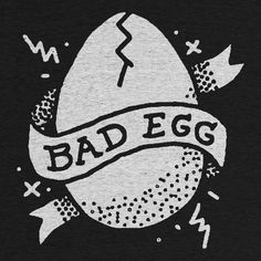Cotton Bureau – Bad Egg by Mikey Burton