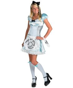 alice in wonderland movie teen costume